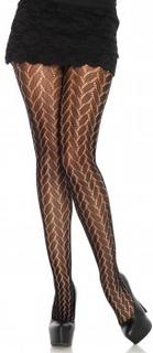 Plaited Lace Pantyhose