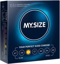 MY.SIZE 53 mm 3pcs
