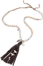 Halsband från Looxent beige