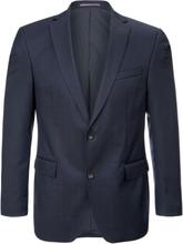 Kavaj i 100% ren ny ull från Carl Gross blå