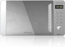 Mikrobølgeovnen med Grill Cecotec ProClean 5120 20 L 700W Sølvfarvet