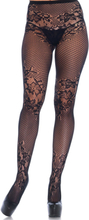 ALLURE NET AND LACE PANTYHOSE OS