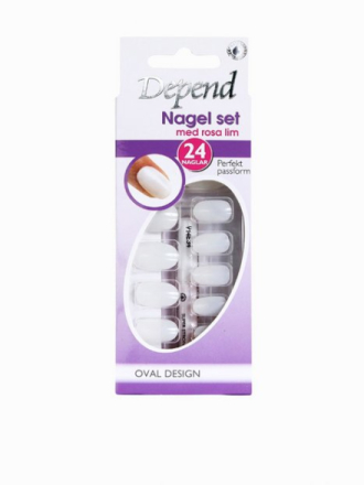 Depend Nail Kit - Oval Design