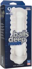 BALLS DEEP 9'' STROKER MOUTH FROST