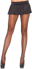 DUAL PLAID NET PANTYHOSE OS