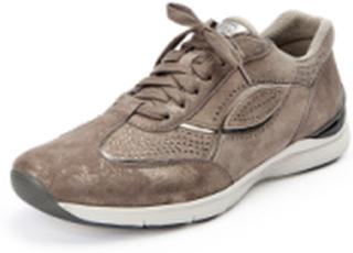 Sneakers glittrande strasstenar från Gabor beige