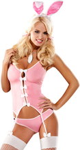 PLAYBOY DRESS - OBSESSIVE - BUNNY SUIT COSTUME - Storlek Large/XL