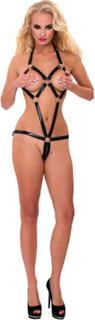 GP Datex Strapped Bodysuit With O-Rings
