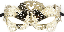 Butterfly Masquerade Mask - Gold
