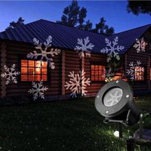 Projektorilamppu talon seinälle / Julkisivu valaistus