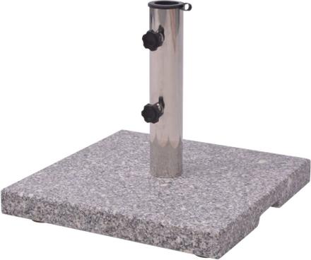 vidaXL Fot till parasoll 20kg Granit