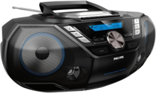Bærbar radio CD Soundmachine - Stereo - Sølv