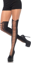 PANTYHOSE W FAUX BOOT O/S BLACK