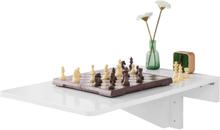 Vægmonteret bord / Foldebord Hvidt