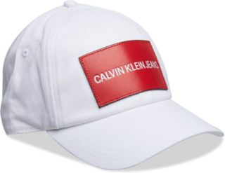J Calvin Klein Jeans Keps Vit CALVIN KLEIN