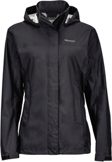Marmot Wm's Precip Jacket Dame regnjakker Sort XS