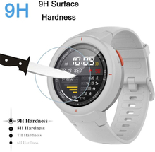 Screen Protector Tempered Glass 9H for Xiaomi Amazfit Verge HD Explosion Proof Glass Film Bubble Free for Amazfit Verge Lite