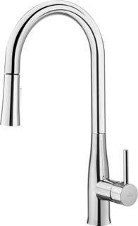 Lyx design köksblandare Lakrits rostfritt stål med dusch