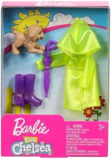 Barbie Club Chelsea Accessories - Regntøj