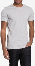 Bread & Boxers Crew Neck T-shirt T-paidat ja topit Grey Melange