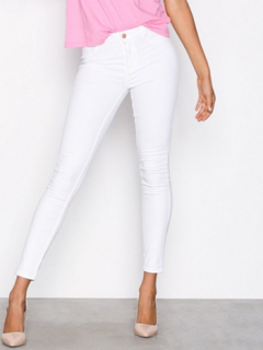 Gina Tricot Molly High Waist Jeans Slim fit Offwhite
