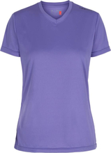 Newline Base Cool women Tee Dame Kortermede treningstrøyer Lilla S