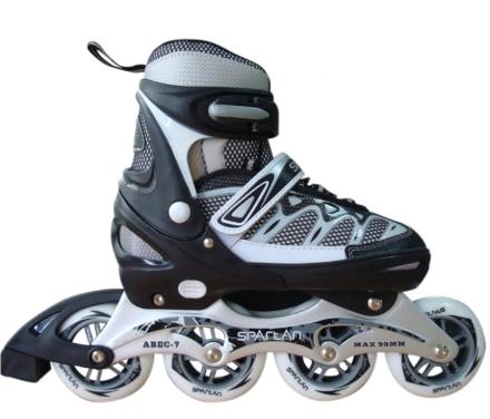 Pro Speed Skate Rulleskøjte - Sort / Grå