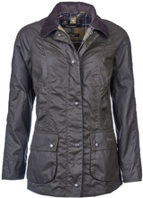 Barbour Classic Beadnell Wax Jacket Dame ufôrede jakker Grønn UK 14 / EU 40