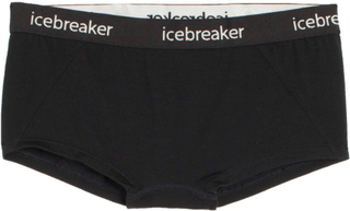 Icebreaker Women's Sprite Hot Pants Dame undertøy Sort M