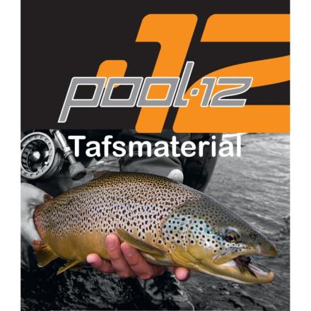 Pool 12 Tafsmaterial 50 m. 0,14mm övrig fiskeutrustning 0,16MM