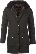 Barbour Women's Bower Wax Jacket Dame øvrige lettfôrede jakker Grønn UK 8 / UK 34
