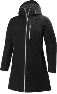 Helly Hansen Women's Long Belfast Winter Jacket Dame synthetic-lined parkas Sort XS