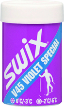 Swix V45 Violet Spec. Hardwax 0/-3C skismøring OneSize