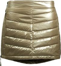 Skhoop Mini Down Skirt Dam Kjol Beige XS