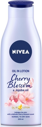 Nivea Body Oil In Lotion Cherry Blossom & Jojoba Oil 200 ml