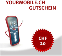 Handy Zubehör Gutschein CHF 20.-