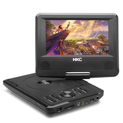 HKC D07HM01 7 tommer bærbar dvd-afspiller