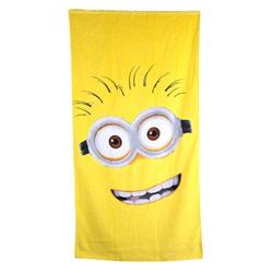Minions Håndklæde Badehåndklæde Kids Towel 140*70cm - wupti.com