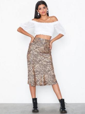 Pieces Pckaia Hw Skirt D2D Midikjolar