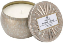 Voluspa Blonde Tabac Decorative Tin Candle
