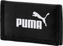 PUMA Phase geweven portemonnee, Zwart