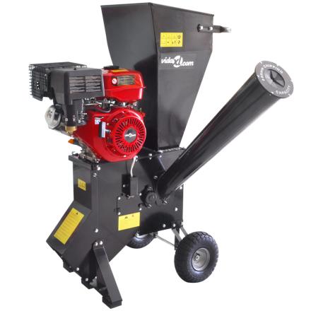 vidaXL flishugger benzindrevet 13 HK-motor