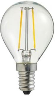 Globen Lighting Lyspære LED Klar Filament E14
