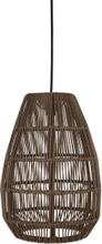 Pamir lampskärm brun 45x44 cm