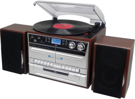 Stereo CD/Vinyl/Tape/Bluetooth