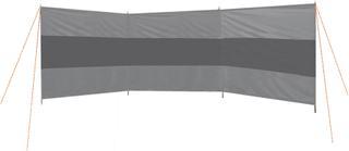 Camp Gear Vindskydd 500x140 cm grå 4367652