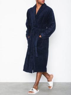 Calvin Klein Underwear Robe Morgenkåper Blue