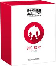 Secura: Big Boy 60 mm, Kondomer, 100-pack