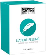 Secura: Nature Feeling, Kondomer, 100-pack