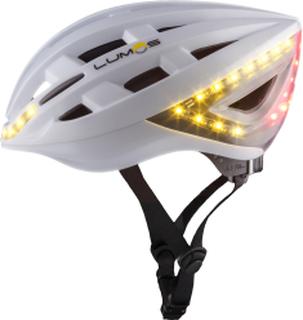open in new REA - Cykelhjälm Lumos White med LED f70d78da43e4b